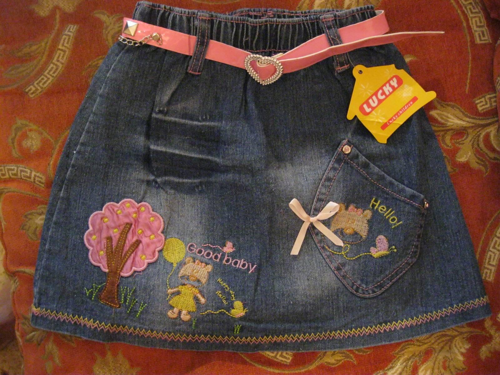 Как сшить джинсовую юбку фото